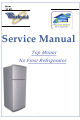 Whirlpool WRID41TW Service Manual