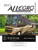 Tiffin Motorhomes 2015 Allegro Owner's Manual