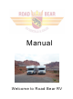 Road Bear RV Class C 19-22' Manual