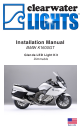 ClearWater Lights BMW K1600GT Installation Manual