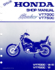 Honda 1984 Shadow VT700C Manual