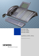 Siemens HiPath 500 Operating Instructions Manual