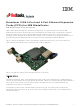 IBM RedBooks Broadcom 10Gb 2-Port and 4-Port Ethernet ExpansionCards At-A-Glance Manual
