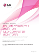 LG 34UC97 Owner's Manual