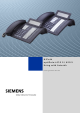 Siemens HiPath optiPoint 410 S Setup Manual