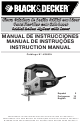 Black & Decker JS650L Instruction Manual