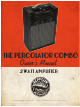 Zeppelin Design Labs THE PERCOLATOR COMBO Owner's Manual