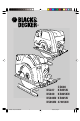 Black & Decker CD600 Manual