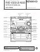 Kenwood RXD-V323 Service Manual