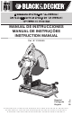 Black & Decker CS2000 Instruction Manual