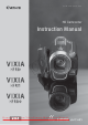Canon Vixia HF R10 Instruction Manual