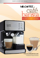 Mr. Coffee Cafe Barista BVMC-ECMP1000 Series Quick Start Manual