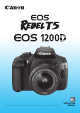 Canon EOS REBEL T5 Instruction Manual