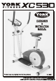 York Fitness XC530 Exercises & Instruction Manual