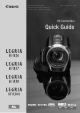 Canon LEGRIA HF R36 Quick Manual