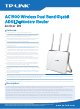 TP-Link AC1900 ARCHER D9 Specifications