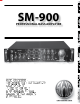 SWR SM-900 Owner's Manual