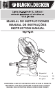 Black & Decker BT1400 Instruction Manual