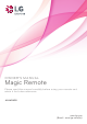 LG MAGIC REMOTE AN-MR600 Owners Manual And Assembly