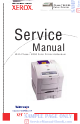 Xerox Phaser 840 Service Manual