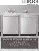 Bosch SHE53L Use And Care Manual