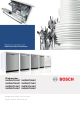 Bosch SHP65T52UC Operating Instructions Manual