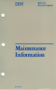 IBM 3270 Maintenance Manual
