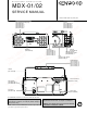 Kenwood MDX-01 Service Manual