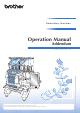 Brother 884-T13 Operation Manual