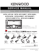 Kenwood DPX-U5130 Service Manual