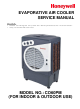 Honeywell CO60PM Service Manual