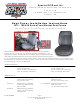 Specter OFF-ROAD 310-73D Installation Instructions Manual