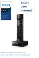 Philips Faro M770 Short User Manual