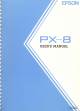 Epson PX-8 User Manual