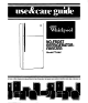 Whirlpool ET14AK Use & Care Manual