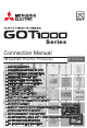 Mitsubishi Electric GT1685 Connection Manual