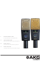 AKG C414 XLS User Instructions