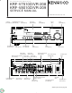 Kenwood KRF-V7510D Service Manual