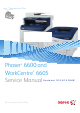 Xerox Phaser 6600 Service Manual