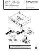 Kenwood KTC-HR100 Service Manual