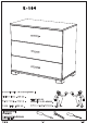 The Home And Office Stores Urban 3 Drawer Chest Assembly Manual