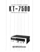 Kenwood KT-7500 Instruction Manual