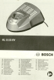 BOSCH AL-1115-CV Original Instructions Manual
