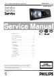 Philips CEM2000/00 Service Manual