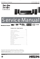 Philips HTS 3544 Service Manual