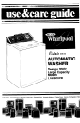Whirlpool LA6500XP Use & Care Manual