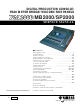 Yamaha DM2000 Service Manual