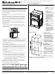 KitchenAid KEMS309E Installation Instructions