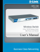 D-Link DWS-1008 User Manual