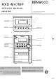 Kenwood RXD-M47mp Service Manual